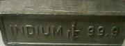 Indium Indiumbarren Indiumankauf Indiumschrott Ankauf